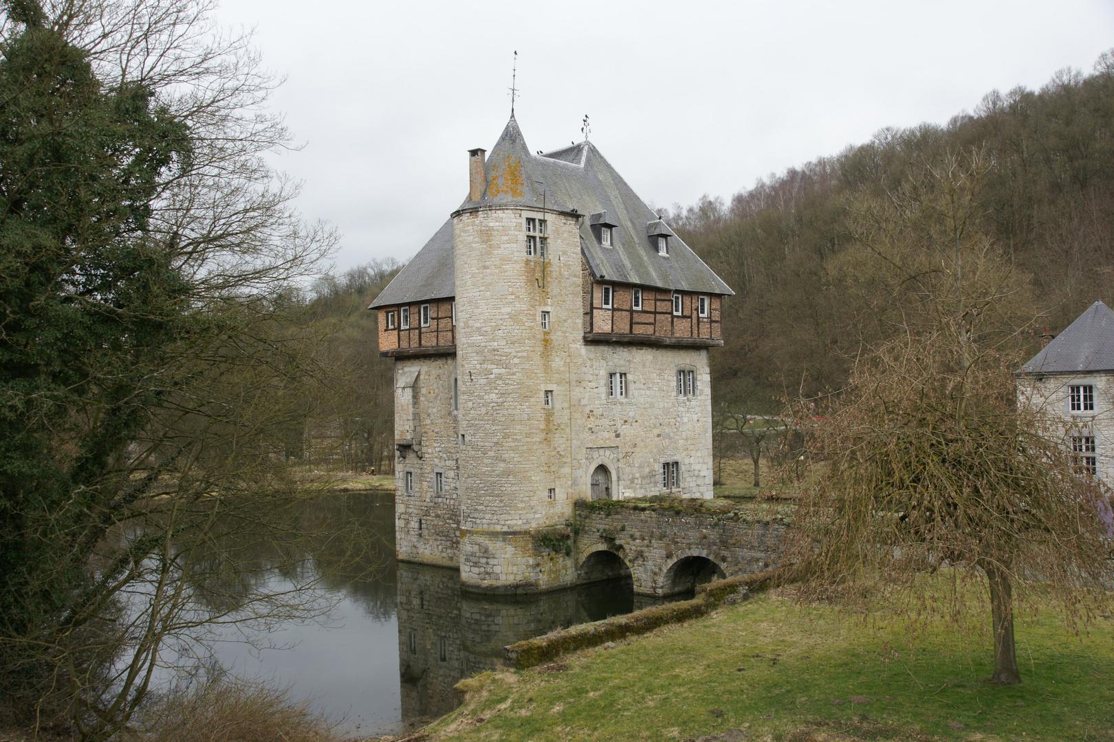 Wasserschloss Crupet (Belgien)