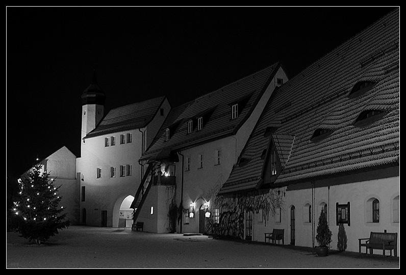 Wasserschloß Klaffenbach bei Chemnitz 2 (Nebengebäude)