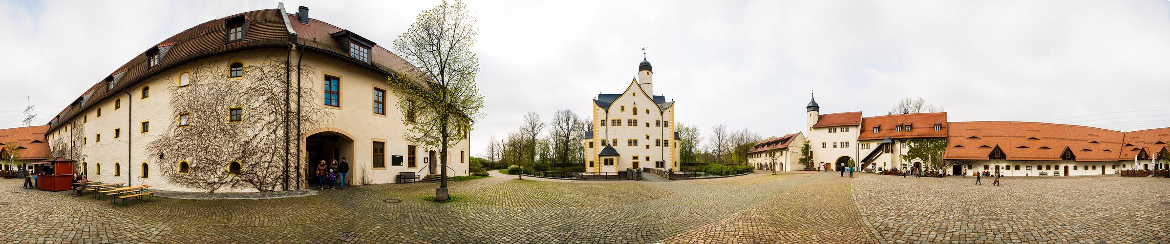 Wasserschloß Klaffenbach bei Chemnitz