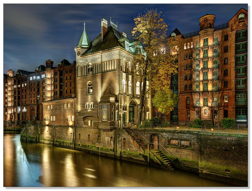 Wasserschloss lateral