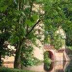 Wasserschloss Mespelbrunn - versteckte Ansicht