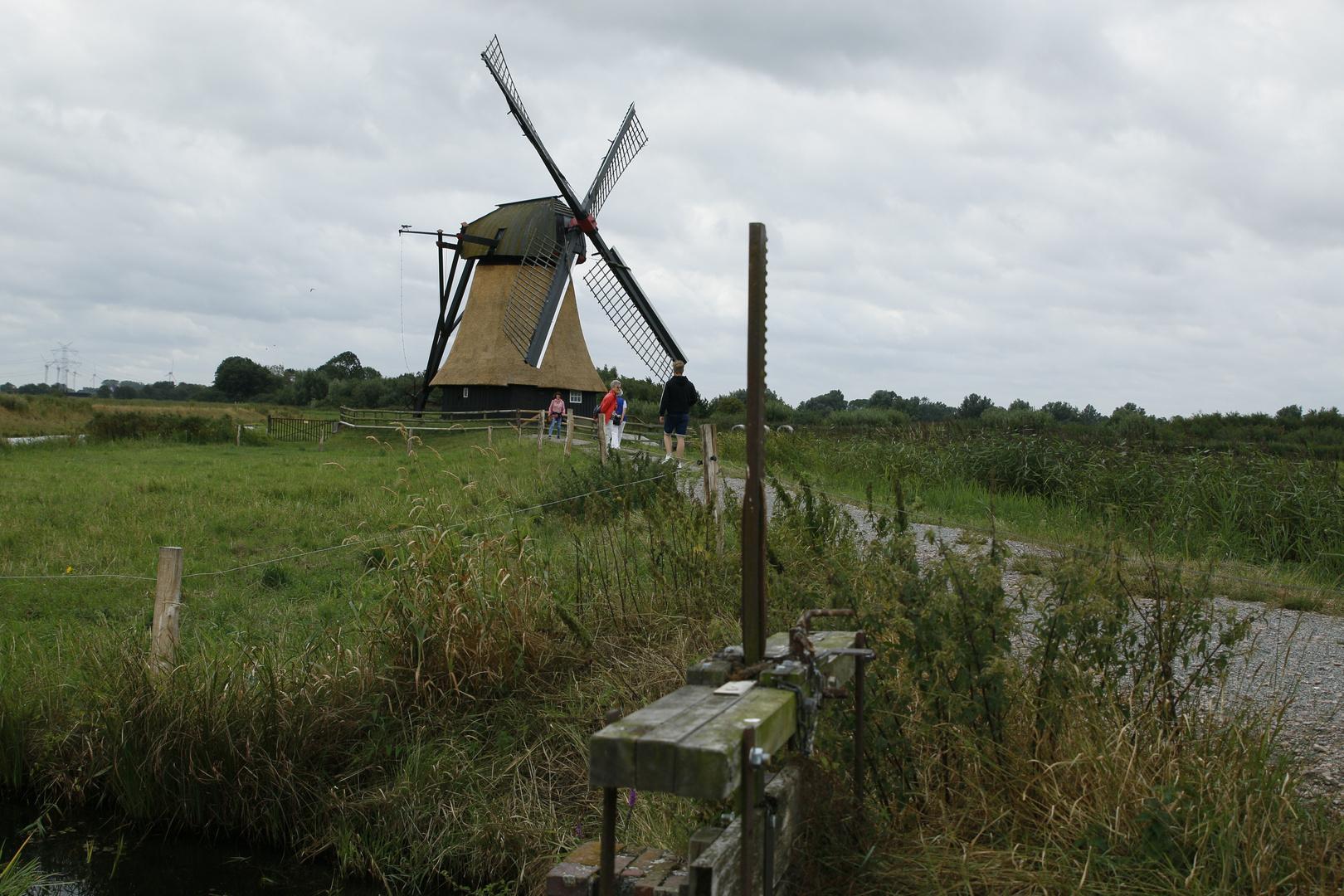 Wasserschöpfmühle  Gödens