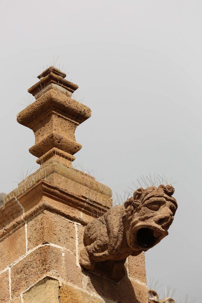 Wasserspeier - Kirche in Teror, Gran Canaria (I)