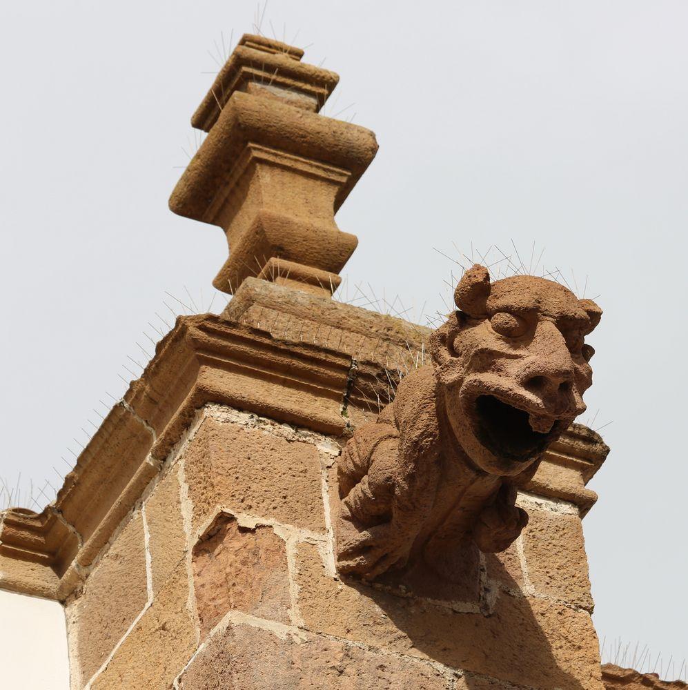 Wasserspeier - Kirche in Teror, Gran Canaria (II)