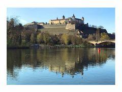Wasserspiegelung der Marienburg