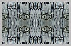 Wasserspiegelungs Strukturen