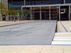 Wasserspiel aus dem Vorplatz