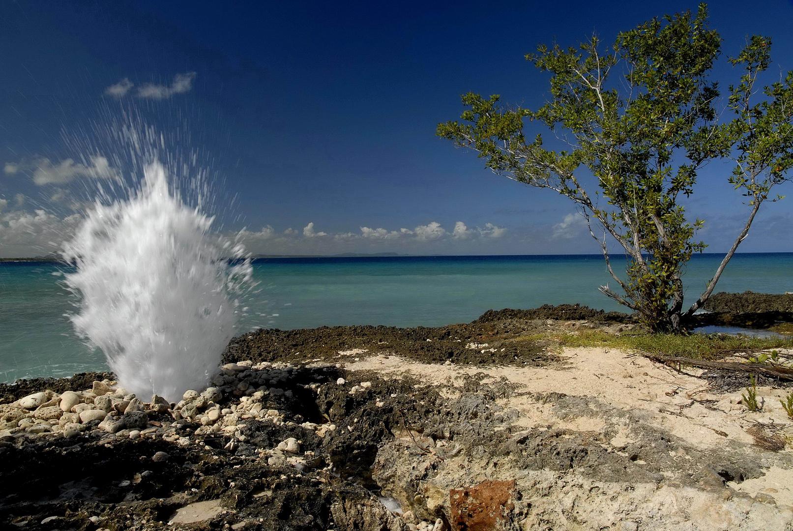 Wasserspiel Kuba