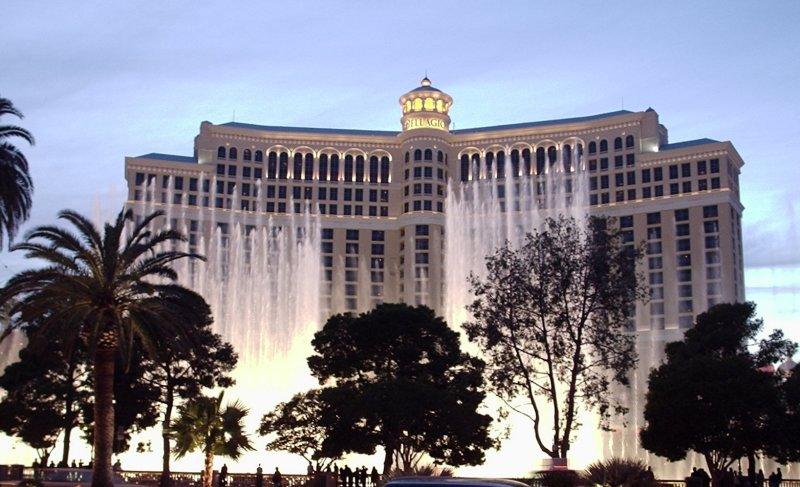 Wasserspiel vor dem Bellagio, Las Vegas