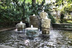 Wasserspiele im Stadtgarten Karlsruhe