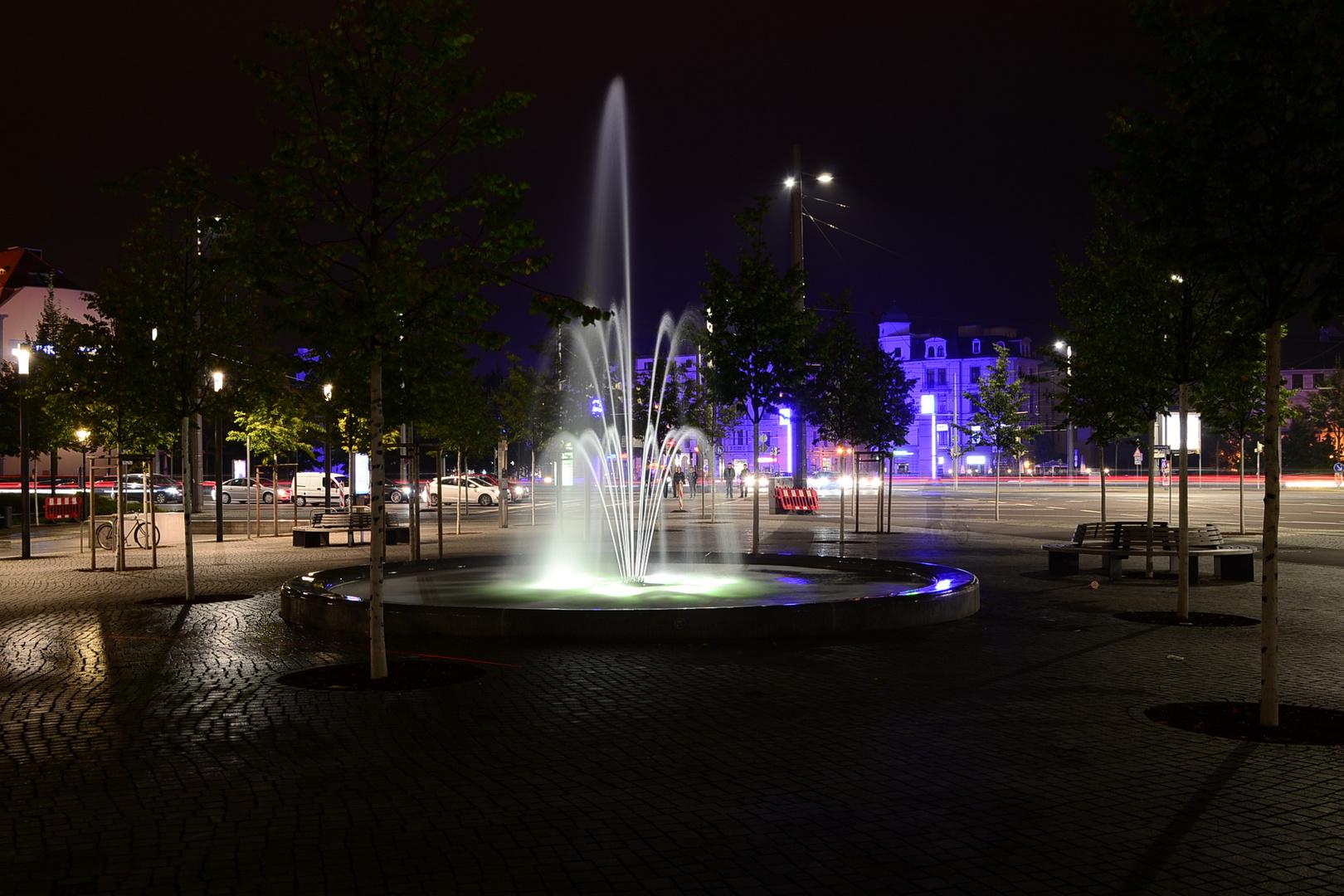 Wasserspiele in Leipzig