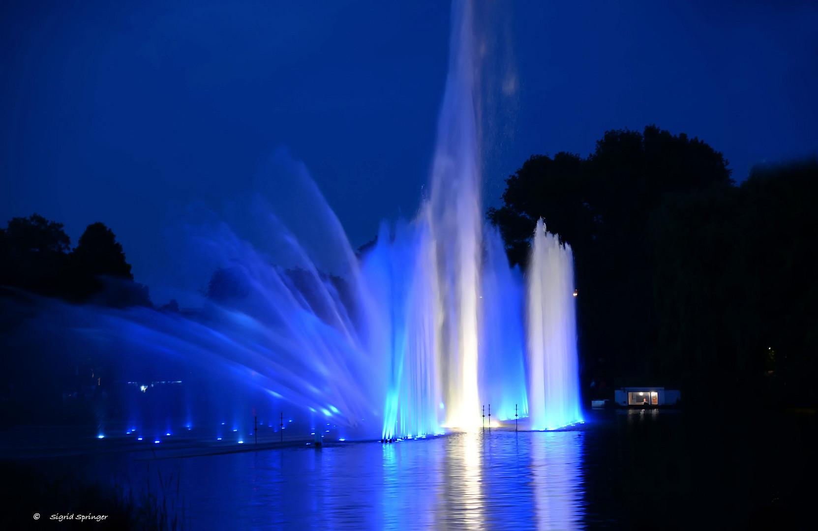 Wasserspiele Planten Und Blomen Foto Bild Hamburg Europa