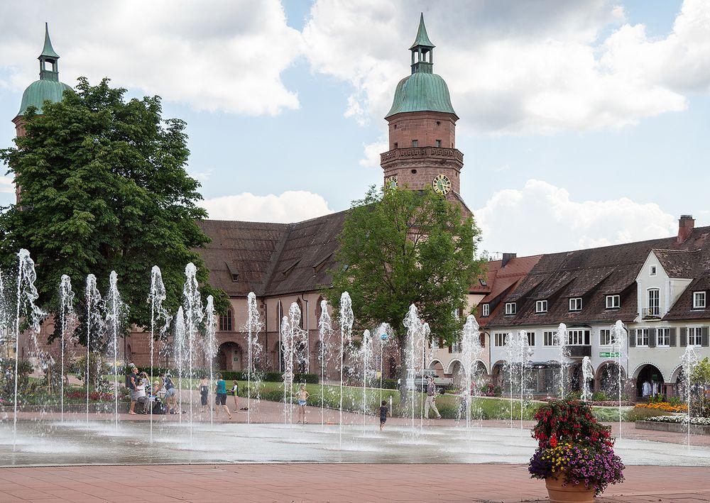"""""""Wasserspielplatz"""" in Freudenstadt"""