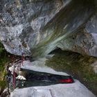 Wasserstelle unterhalb Bocca d'Enzima
