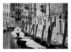 Wasserstrassen in Venedig