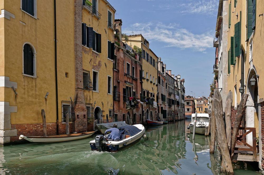 Wasserstrassen - Venedigs -