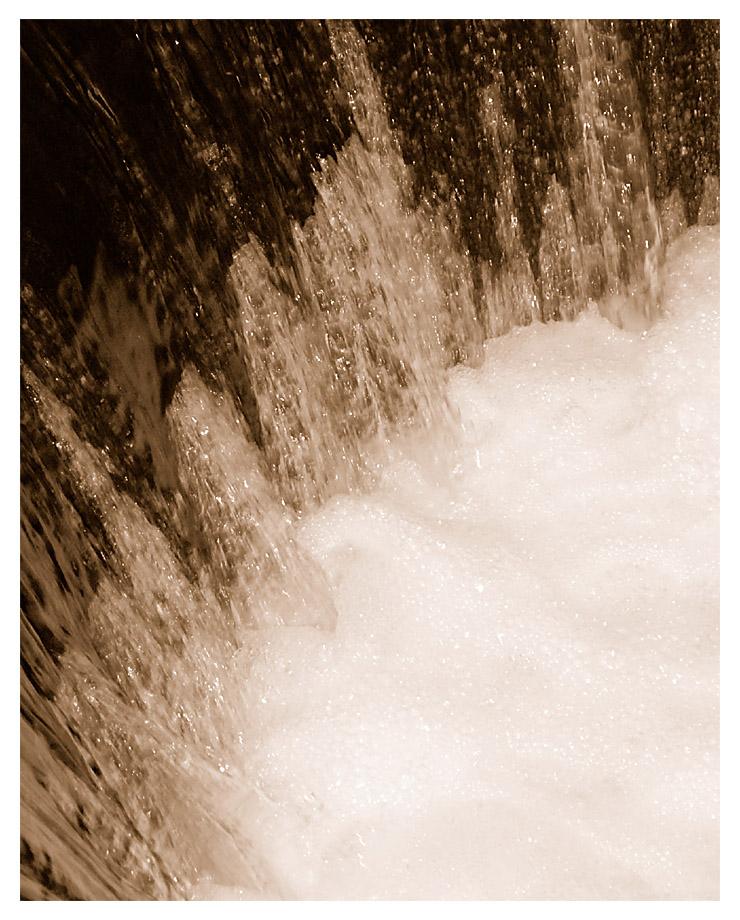 "Wasserstrom in den ""Fallturm"""