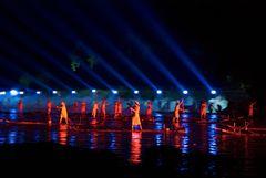 Wassertheater in Yangshou (China)