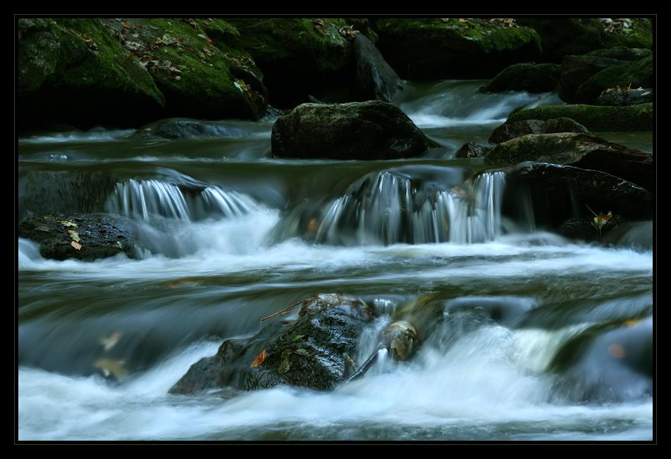 Wassertreppchen