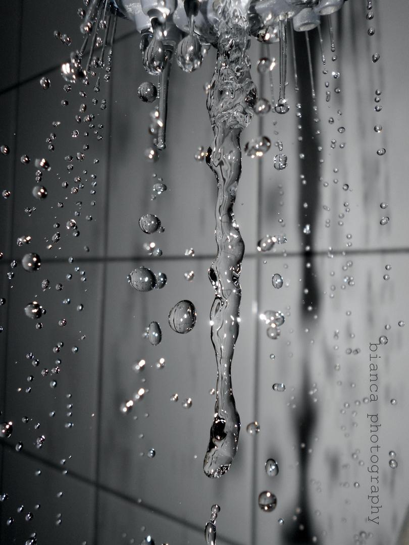 Wassertropfen..