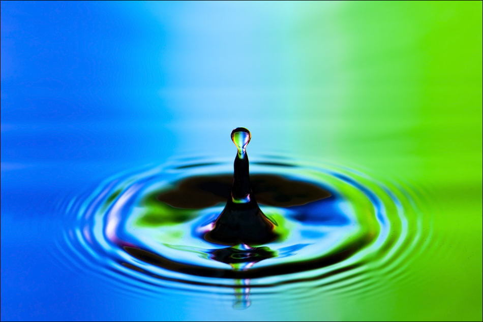 Wassertropfen .. .... .