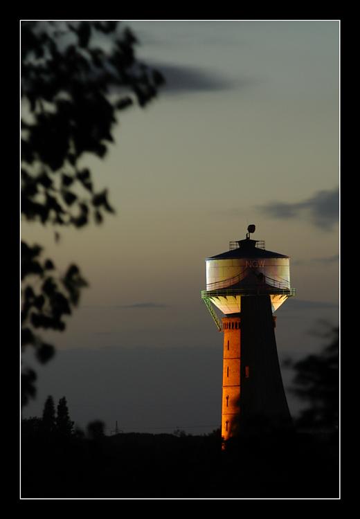 Wasserturm am LaPaDu