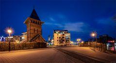 Wasserturm an der Hubbrücke / Magdeburg