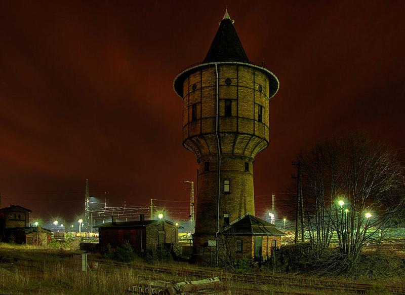Wasserturm Bahnhof Ruhland/OL