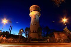 Wasserturm bei 3°C