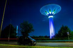 Wasserturm by Night