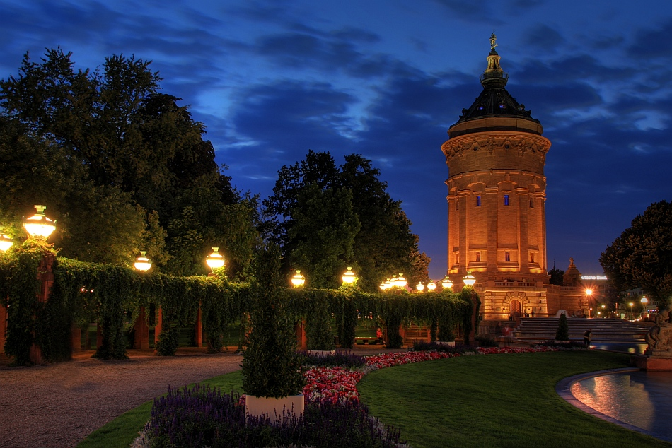 Wasserturm - Mannheim