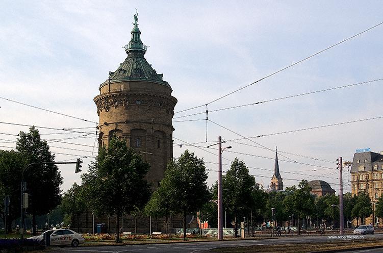 Wasserturm Mannheim korrigiert