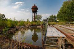Wasserturm und Drehscheibe