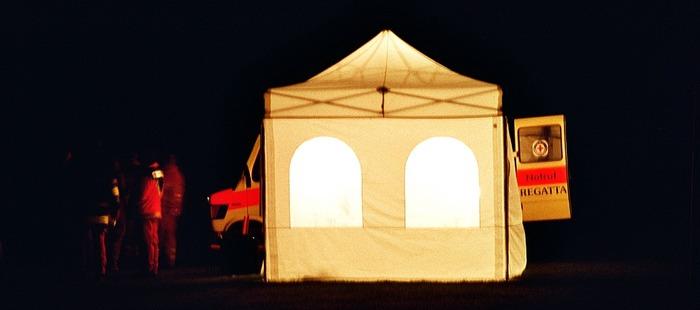 Wasserwacht auch in der Nacht