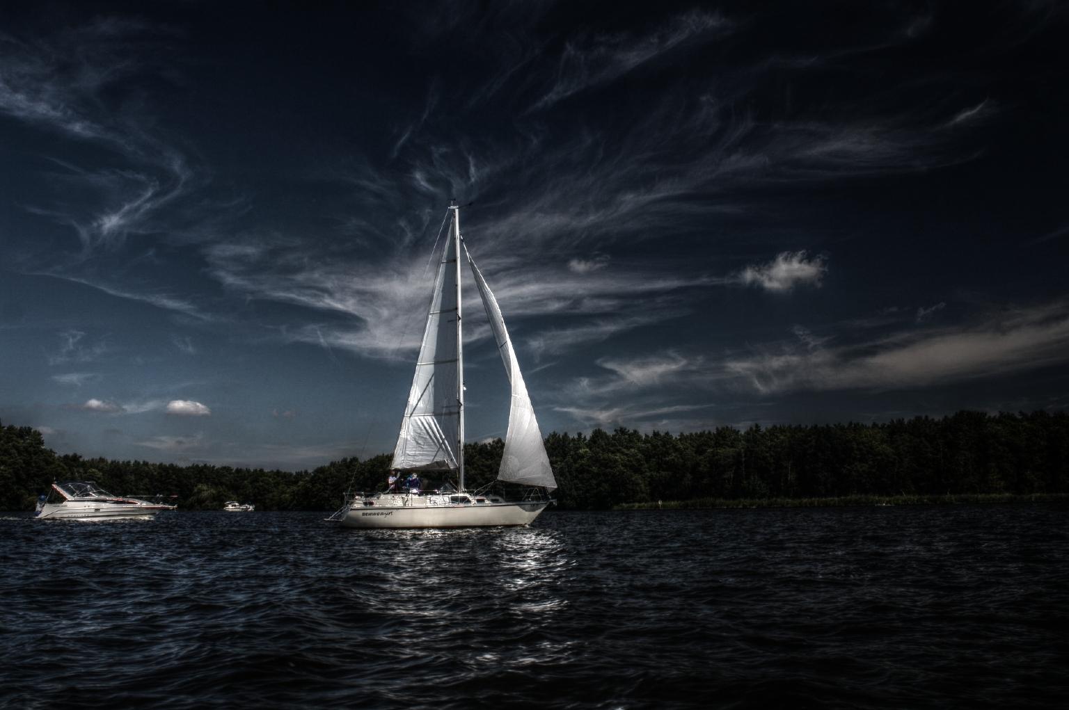 Wasser...Wind ...& Wolken - 2. Versuch