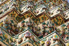 Wat Arum Mosaikdetails