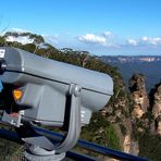 Watching the Three Sisters from Echo Point