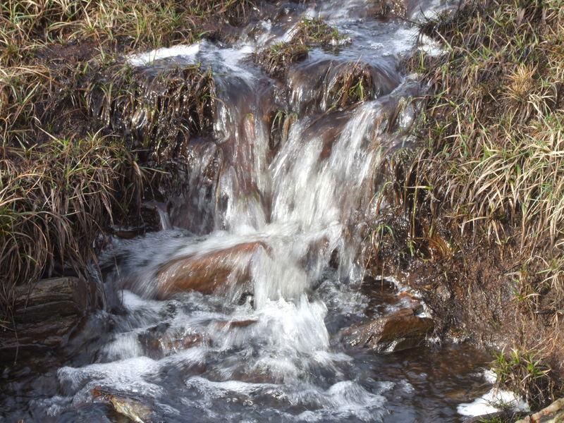water again