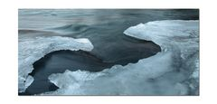 water & ice - - - framed
