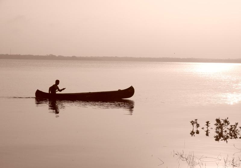 Water so calm.....