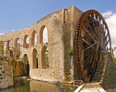 Water wheel (called Noria)