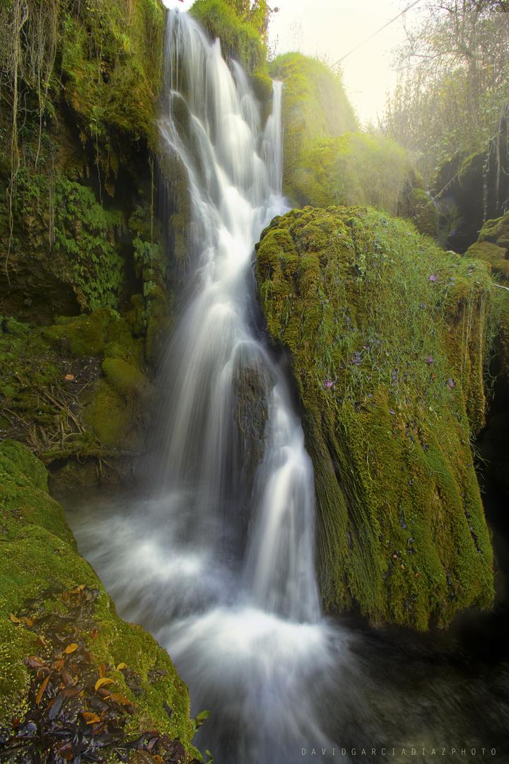 Waterfall in Burgod