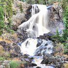 Waterfall in Halden, Norway