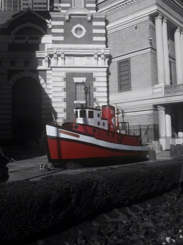 waterless fireboat