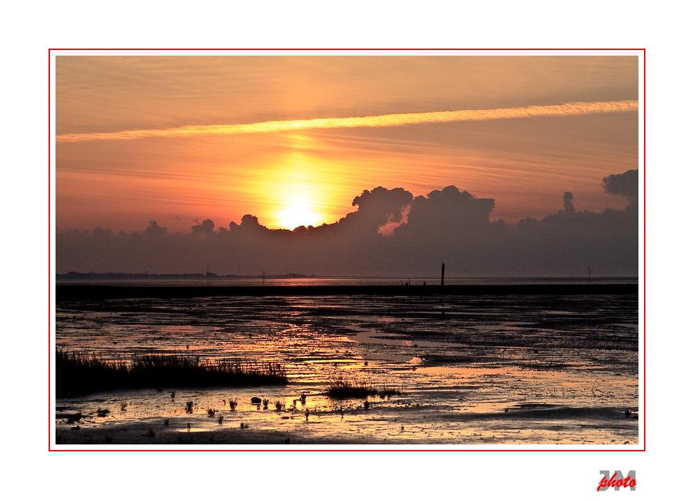 Watt'n Sonnenuntergang