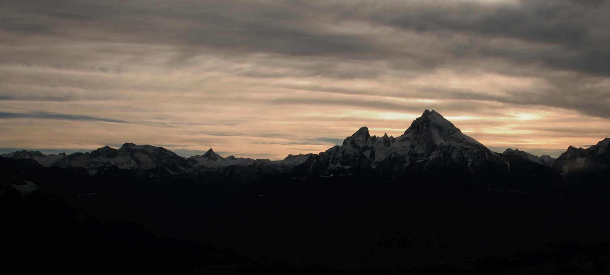 Watzmann von der Kneifelspitze