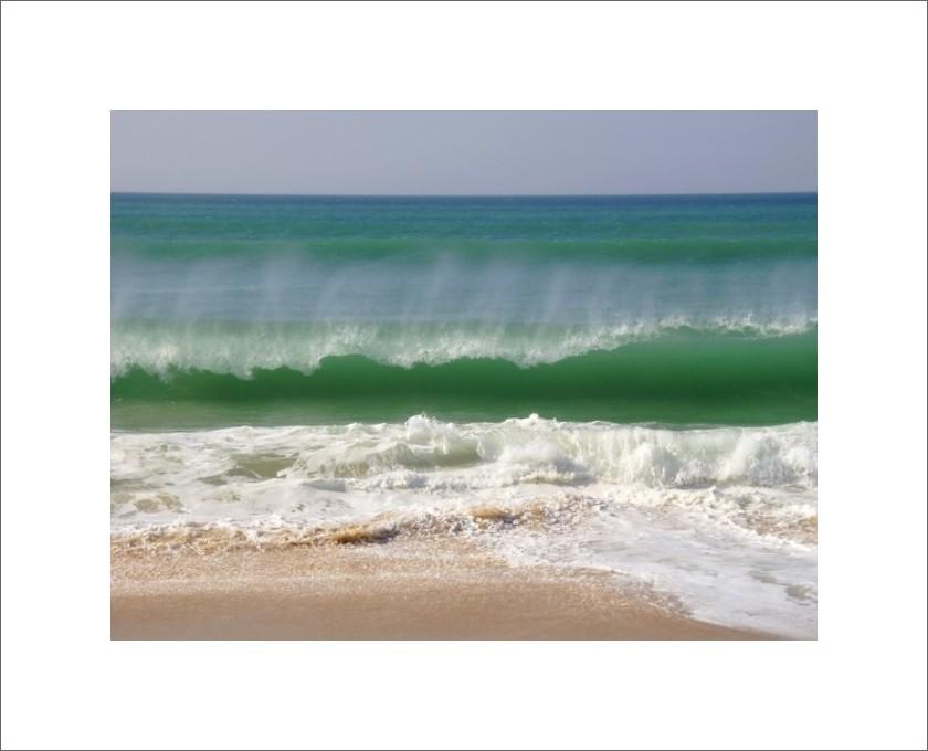 ... wave breaking ...