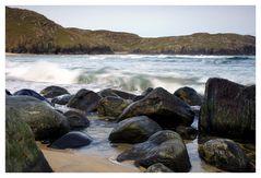 Waves on Dalmore Beach