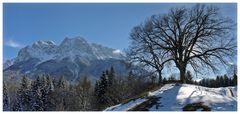 Waxensteine-Panorama