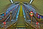 Way out, London Tube, St.-John's Wood